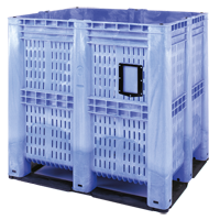 It is not always necessary to transport completely packed products. Our high-volume pallet boxes have been recognized as an ideal solution for safe storage and smooth transportation of loose products like vegetables or bulk commodities.